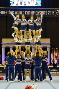 Cheerleading WM 2015